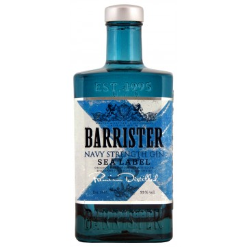 BARRISTER GIN NAVY 0,7 L