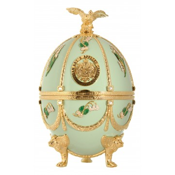 IMPERIAL COLLECTION VEJCE FABERGE, PISTACIOVÉ S KONVALINKAMI