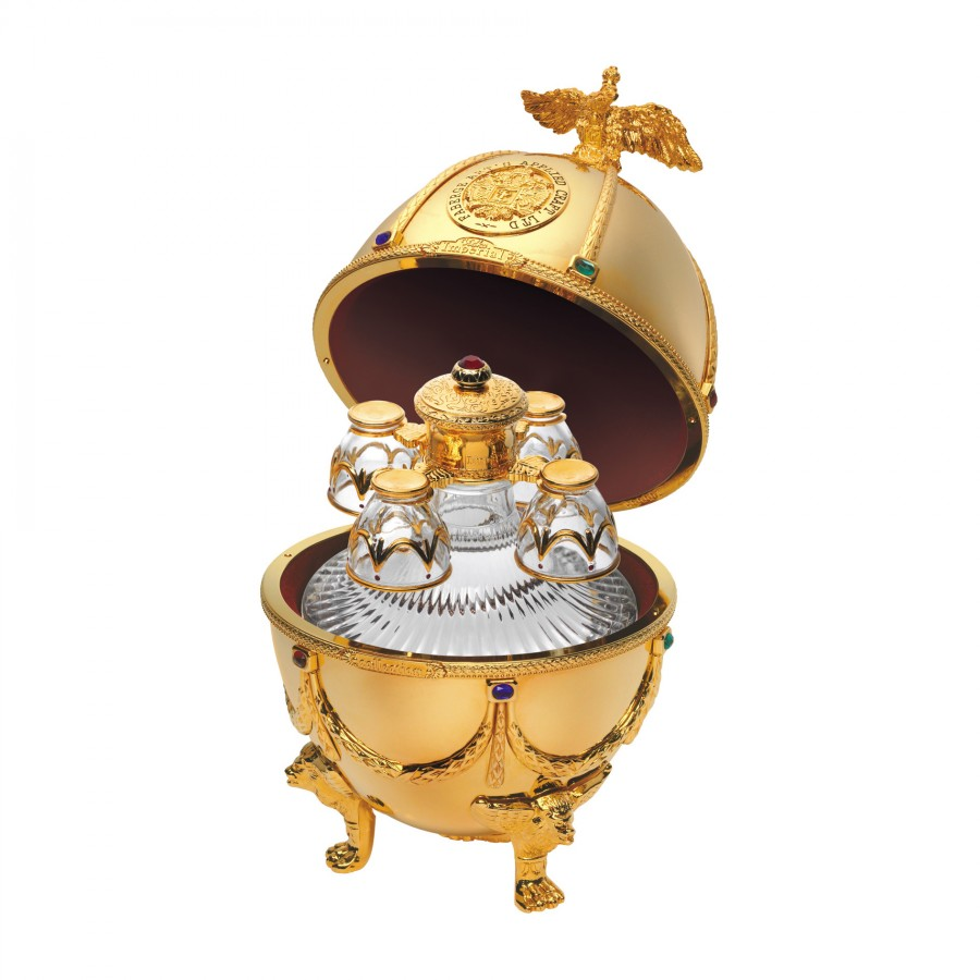 IMPERIAL COLLECTION VEJCE FABERGE, ZLATO