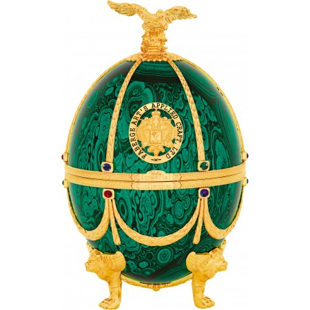 IMPERIAL COLLECTION VEJCE FABERGE, SMARAGD