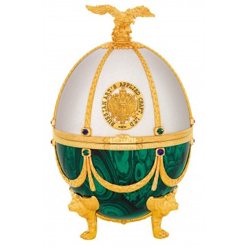 IMPERIAL COLLECTION VEJCE FABERGE, PERLA A SMARAGD