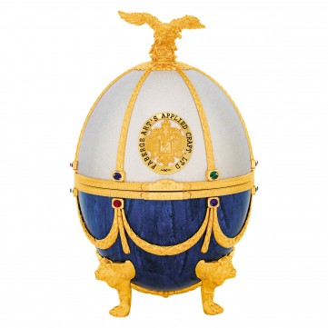 IMPERIAL COLLECTION VEJCE FABERGE, PERLA A SAFÍR